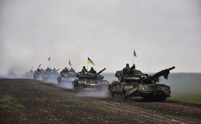 Quân đội Ukraine định dùng phóng xạ đầu độc vùng ly khai Donbass, đổ tội cho Nga?