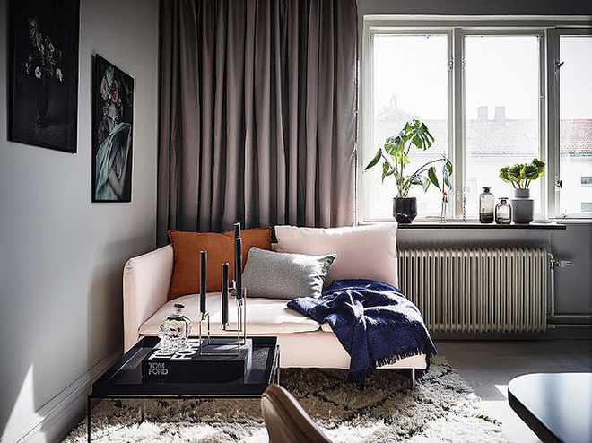 Căn hộ nhỏ vỏn vẹn 26m² nhưng góc nào góc nấy đẹp như khách sạn nhờ áp dụng phong cách này - Ảnh 9.