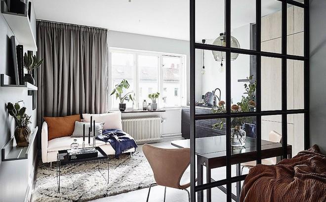 Căn hộ nhỏ vỏn vẹn 26m² nhưng góc nào góc nấy đẹp như khách sạn nhờ áp dụng phong cách này