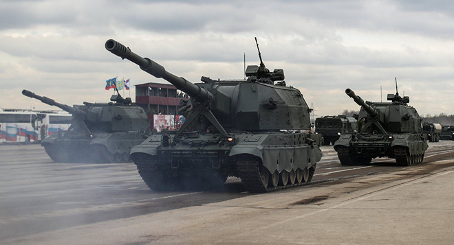 Siêu tăng T-14 Armata Nga sẽ khạc lửa bằng pháo 152 mm? - Ảnh 2.