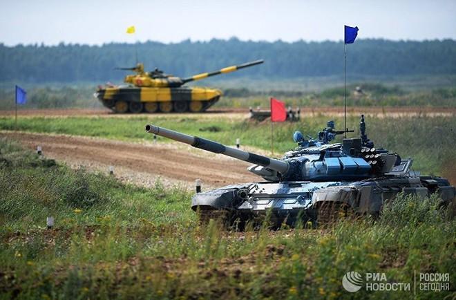 Đại tá Nguyễn Khắc Nguyệt: Tank Biathlon 2018 - Xe tăng T-72B3 bị đốt đít và gặp sự cố - Ảnh 3.