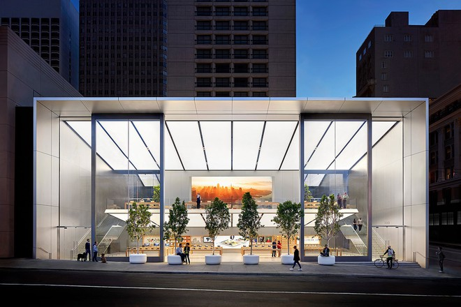 8 cửa hàng đẹp sang chảnh bậc nhất của Apple, đảm bảo vào bạn sẽ không muốn ra Công nghệ 9 giờ trước - Ảnh 4.
