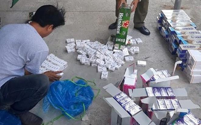 """Buôn lậu thuốc lá ở biên giới Tây Nam vẫn """"nóng"""""""