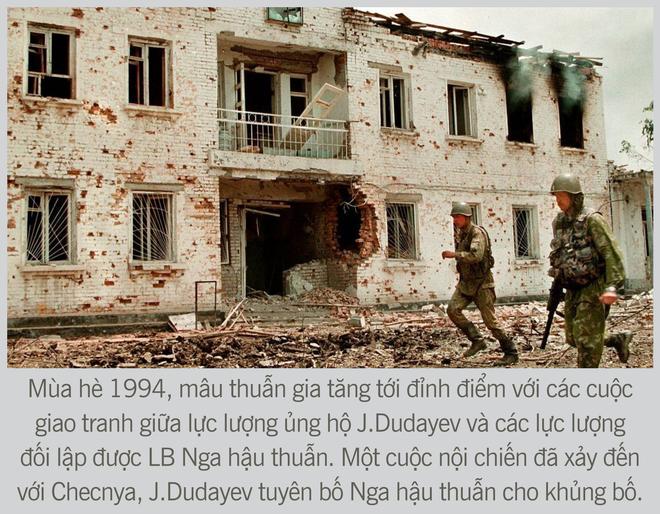 [Photo Story] Chiến tranh Chechnya lần thứ nhất - Nơi quân đội Nga sa hỏa ngục - Ảnh 2.