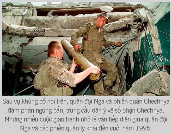 [Photo Story] Chiến tranh Chechnya lần thứ nhất - Nơi quân đội Nga sa hỏa ngục - Ảnh 9.