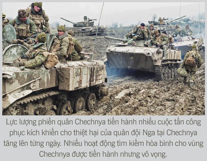 [Photo Story] Chiến tranh Chechnya lần thứ nhất - Nơi quân đội Nga sa hỏa ngục - Ảnh 12.