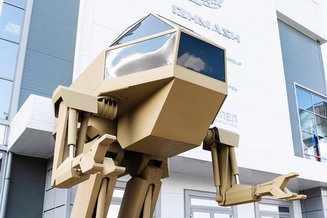 Robot sát thủ Nga lộ diện: Giống người ngoài hành tinh - Ảnh 3.