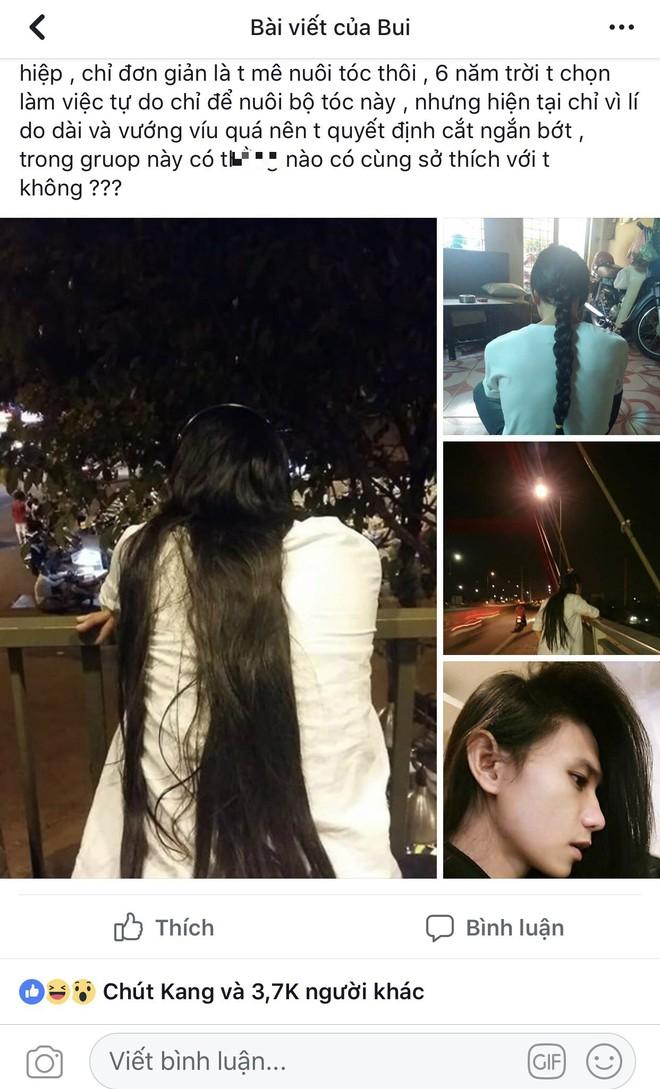 Vì mái tóc dài, chàng trai vướng không ít hiểu lầm, bị mọi người chỉ trỏ bàn tán - ảnh 3