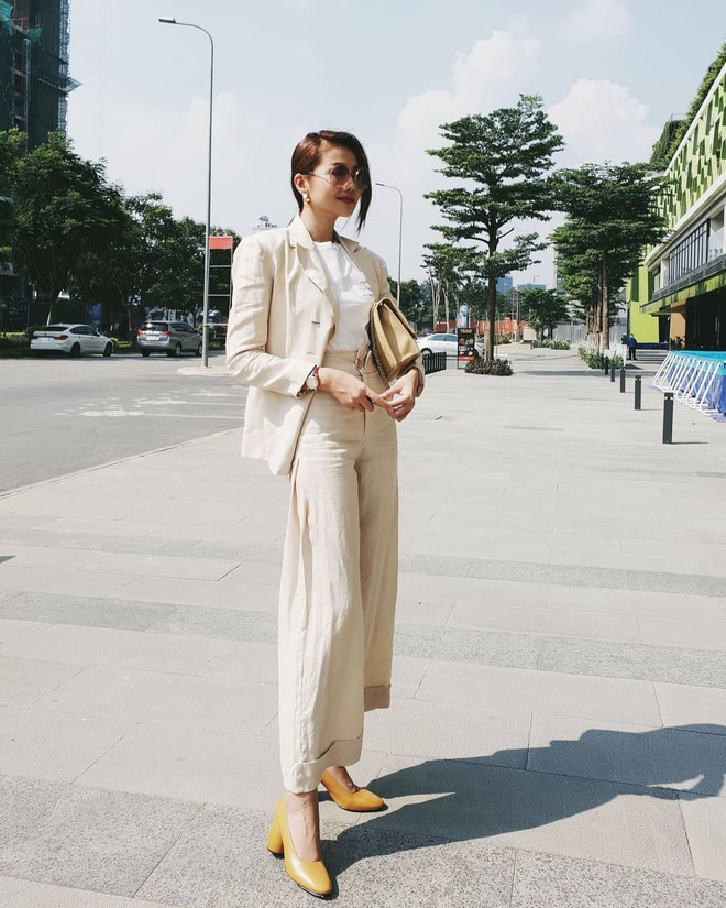 Không cần học đâu xa, các mỹ nhân Việt cũng có loạt gợi ý đầy tính ứng dụng giúp nàng công sở mặc đẹp cả tuần - Ảnh 15.