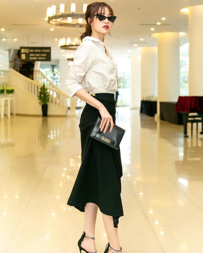 Không cần học đâu xa, các mỹ nhân Việt cũng có loạt gợi ý đầy tính ứng dụng giúp nàng công sở mặc đẹp cả tuần - Ảnh 4.