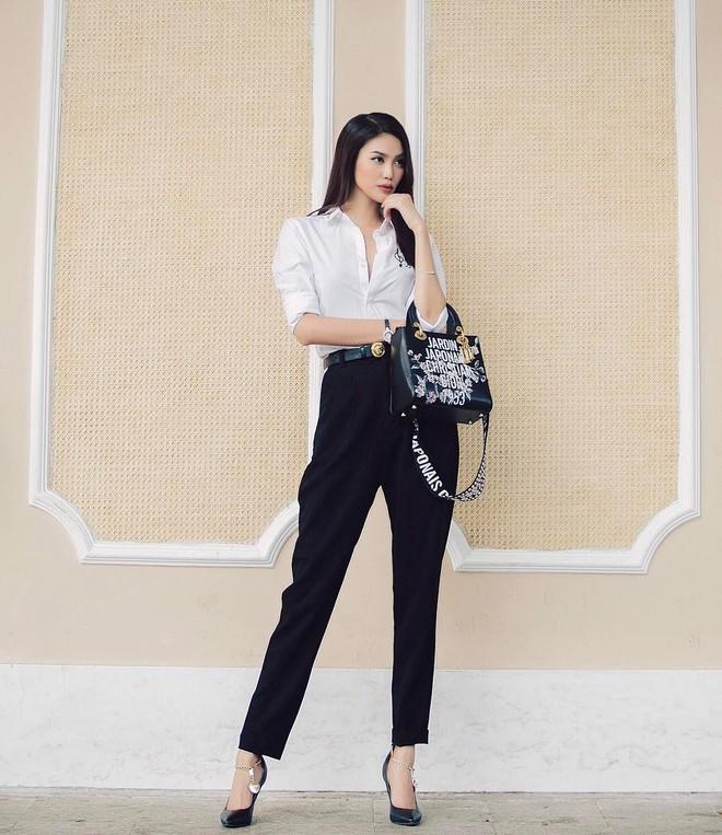 Không cần học đâu xa, các mỹ nhân Việt cũng có loạt gợi ý đầy tính ứng dụng giúp nàng công sở mặc đẹp cả tuần - Ảnh 6.