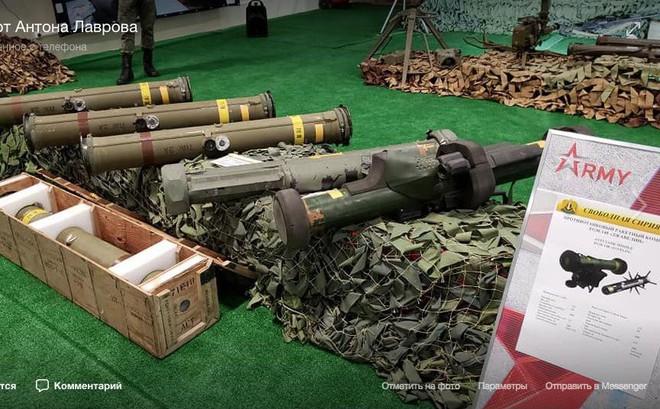 Nga thu giữ được tên lửa chống tăng siêu hiện đại Javelin của Mỹ?
