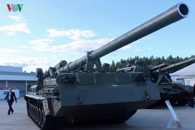 Soi các siêu vũ khí của quân đội Nga tại triển lãm Army 2018