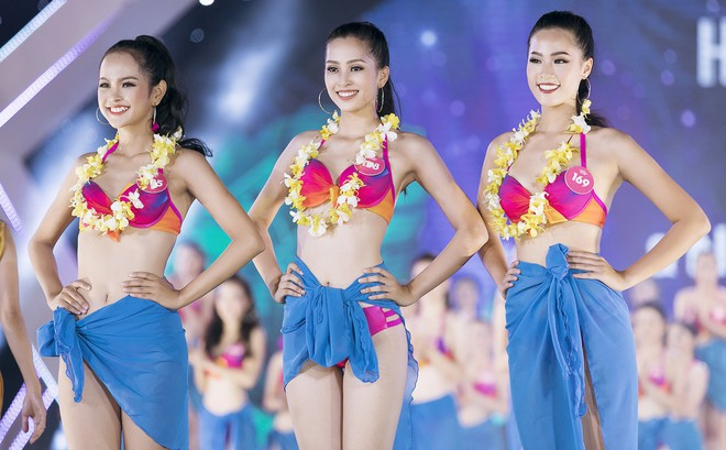 Lộ diện 3 thí sinh có thân hình đẹp nhất Hoa hậu Việt Nam sau màn thi bikini bốc lửa
