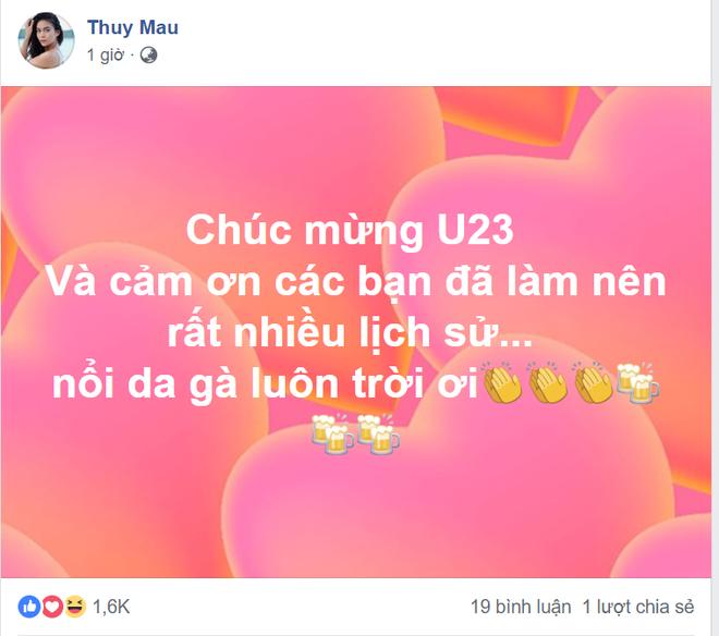 Các sao Việt phát cuồng vì HLV Park Hang và U23 Việt Nam