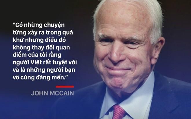 John McCain: Người gọi Biển Đông là East Sea và ủng hộ Mỹ bỏ cấm vận vũ khí với Việt Nam - Ảnh 9.