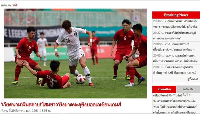 """Trong niềm cảm thông, báo Thái Lan nói về """"giấc mơ cuối cùng"""" của U23 Việt Nam - Ảnh 2."""