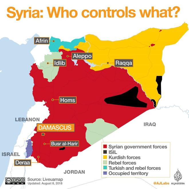 Idlib chờ trận đánh kết thúc nội chiến Syria, Địa Trung Hải dậy sóng tàu Nga, Mỹ - ảnh 1