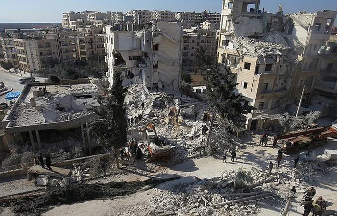 Idlib chờ trận đánh kết thúc nội chiến Syria, Địa Trung Hải dậy sóng tàu Nga, Mỹ - ảnh 2