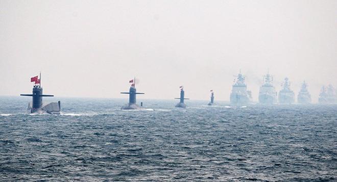 Báo Nhật: Nóng cuộc đua tàu ngầm trên Biển Đông - Ảnh 1.