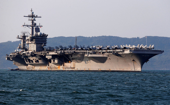 Mỹ dàn trận tàu sân bay, quần tụ về Thái Bình Dương, sẵn sàng tham chiến với Nga - Trung?