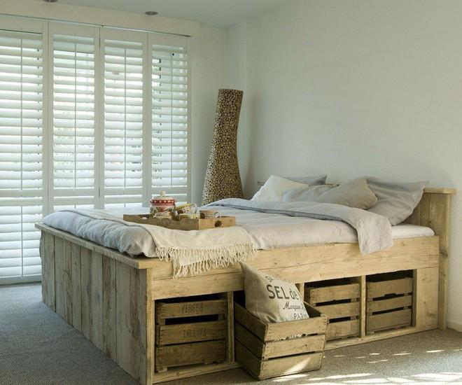 Phòng ngủ nhỏ rộng thênh thang với 8 kiểu giường lưu trữ siêu hoàn hảo dưới đây - Ảnh 5.
