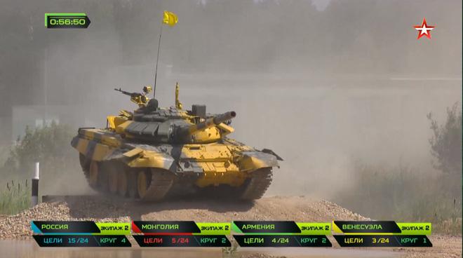 Nga vừa hạ gục nhanh tiêu diệt gọn xe tăng TQ tại Tank Biathlon 2018: Hít khói và ăn đạn! - Ảnh 4.