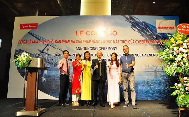Lộ diện nhà phân phối chính thức sản phẩm và giải pháp Năng lượng mặt trời của CyberPower tại Việt Nam