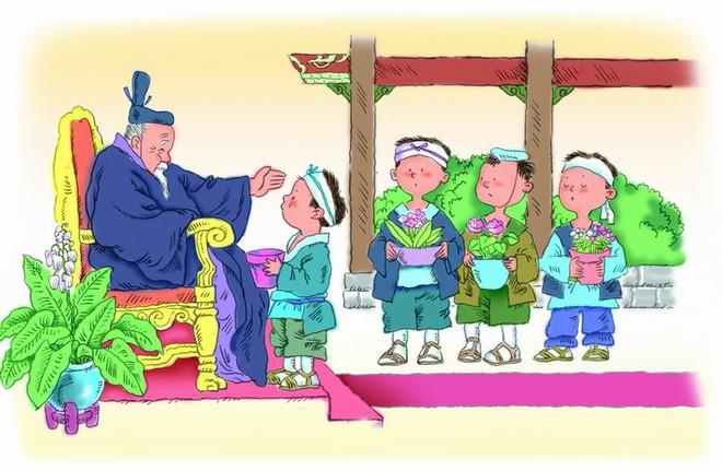 Mang chậu cây không nảy mầm đến gặp vua, cậu bé bất ngờ được chọn làm người kế vị ngôi báu - Ảnh 3.
