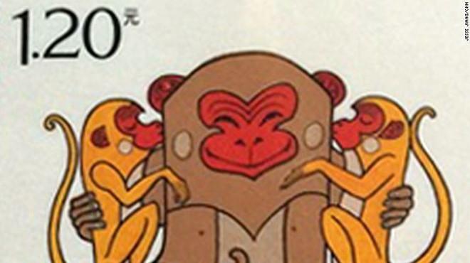 Con tem năm khỉ