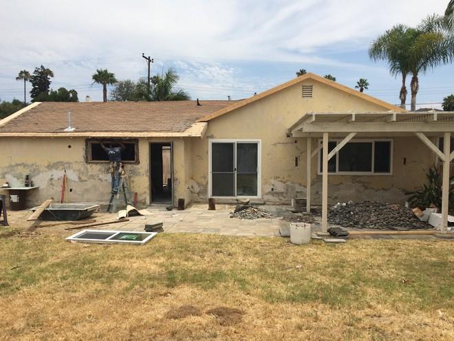 Hiện trạng ngôi nhà trước khi cải tạo.