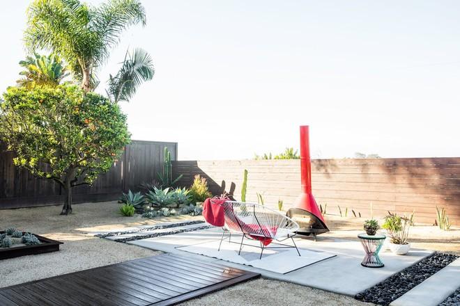 Góc sân vườn tuyệt đẹp cho nhu cầu thư giãn hay những bữa tiệc đồ nướng tại gia.