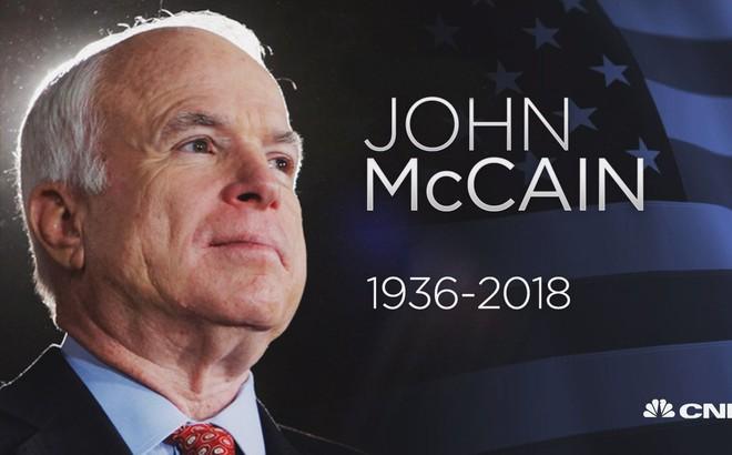 Tưởng niệm TNS John McCain: Con gái Meghan McCain tiễn cha bằng bài phát biểu nghẹn ngào