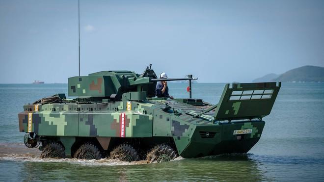 """Cận cảnh Thái Lan đưa xe thiết giáp tự chế tạo đi """"học bơi"""" - ảnh 5"""
