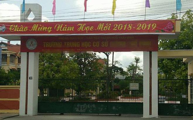 Thái Bình: Đang điều tra nghi án một nữ sinh lớp 9 bị hiếp dâm tập thể
