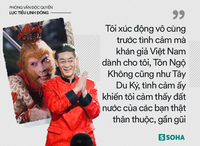 Lục Tiểu Linh Đồng trả lời báo Việt Nam: Tôi không có con trai nối dõi là sự khiếm khuyết hoàn mỹ! - Ảnh 3.