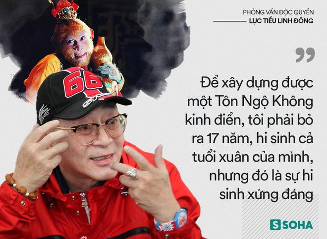 Lục Tiểu Linh Đồng trả lời báo Việt Nam: Tôi không có con trai nối dõi là sự khiếm khuyết hoàn mỹ! - Ảnh 4.