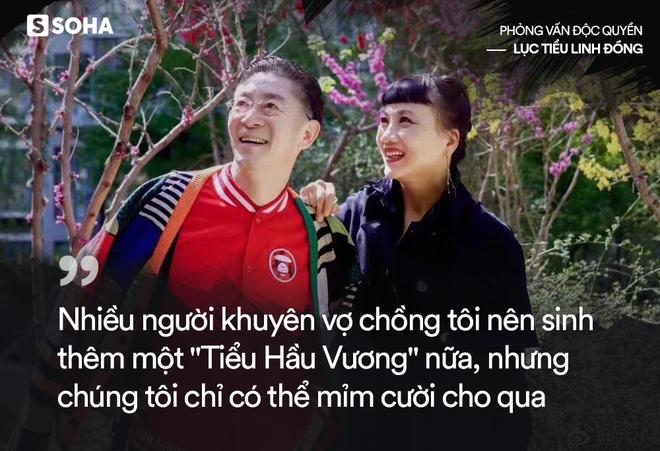 Lục Tiểu Linh Đồng trả lời báo Việt Nam: Tôi không có con trai nối dõi là sự khiếm khuyết hoàn mỹ! - Ảnh 9.