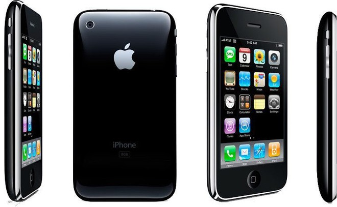 iphone 3G - thay mat kinh iphone