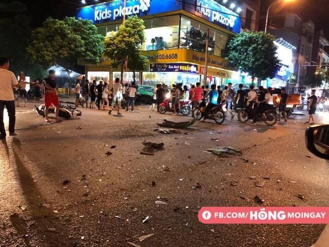 Clip về vụ tai nạn kinh hoàng, gây xôn xao tối hôm qua ở Bắc Ninh - ảnh 1