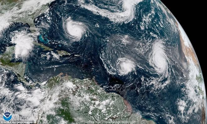 9 cơn bão cùng hoành hành Trái Đất: Siêu bão mạnh nhất có nguy cơ ảnh hưởng tới Việt Nam - Ảnh 3.