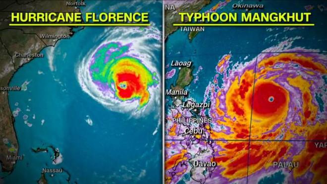 Siêu bão Mangkhut có thể đe dọa 10 triệu người, Philippines sơ tán khẩn cấp - Ảnh 2.