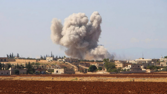 Chuyên gia: Dễ thấy kết quả của chiến dịch Idlib, Mỹ dù thua đậm cũng sẽ không rút quân - Ảnh 2.