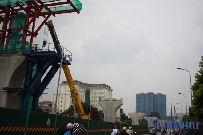 Toàn cảnh tuyến đường trên cao trị giá 9.400 tỷ 'giải cứu' giao thông Vĩnh Tuy - Ngã Tư Sở - Ảnh 3.