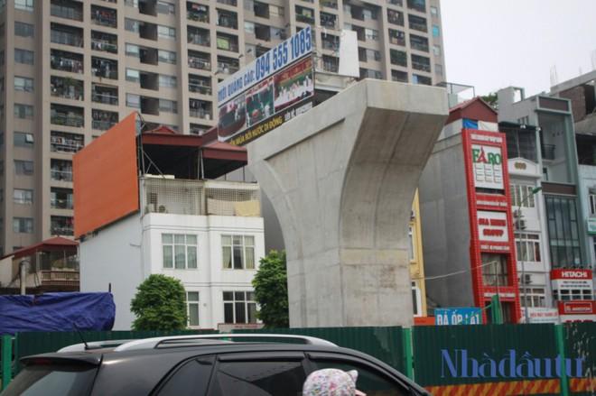 Toàn cảnh tuyến đường trên cao trị giá 9.400 tỷ 'giải cứu' giao thông Vĩnh Tuy - Ngã Tư Sở - Ảnh 4.