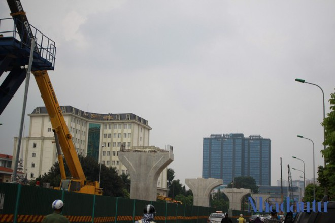 Toàn cảnh tuyến đường trên cao trị giá 9.400 tỷ 'giải cứu' giao thông Vĩnh Tuy - Ngã Tư Sở - Ảnh 5.