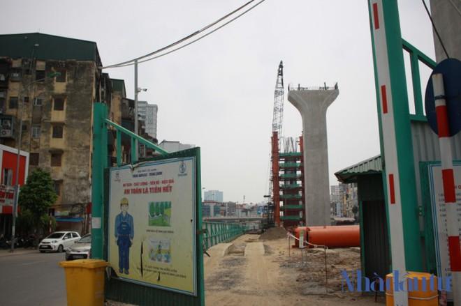 Toàn cảnh tuyến đường trên cao trị giá 9.400 tỷ 'giải cứu' giao thông Vĩnh Tuy - Ngã Tư Sở - Ảnh 6.