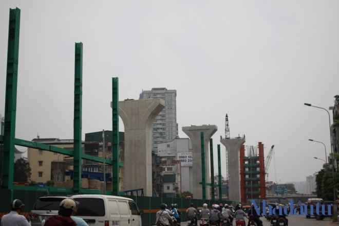 Toàn cảnh tuyến đường trên cao trị giá 9.400 tỷ 'giải cứu' giao thông Vĩnh Tuy - Ngã Tư Sở - Ảnh 8.