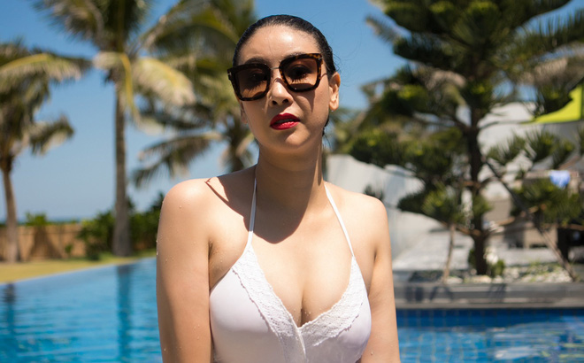 Ở tuổi 42, hoa hậu Hà Kiều Anh vẫn tự tin diện bikini nóng bỏng