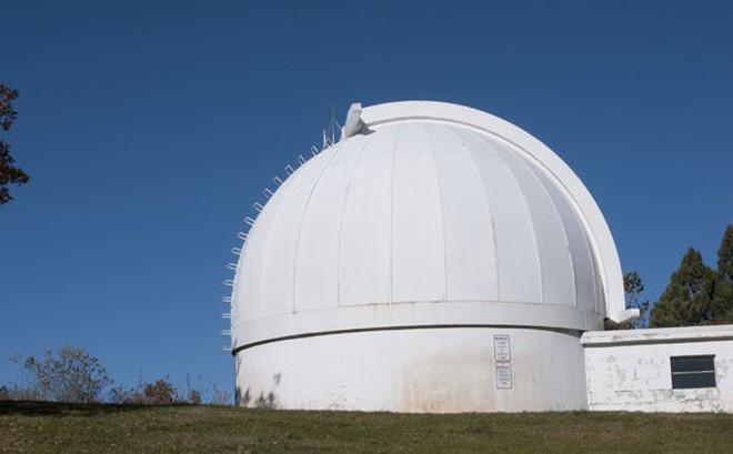 Đài quan sát mặt trời Sunspot (NSO) bất ngờ bị sơ tán vào ngày 6/9. (Ảnh: Getty)